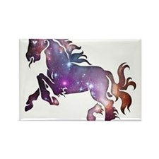 Galaxy Horse Rectangle Magnet