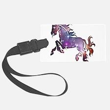 Galaxy Horse Luggage Tag