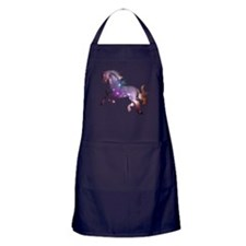 Galaxy Horse Apron (dark)