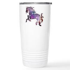 Galaxy Horse Travel Mug