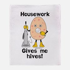 Housework Throw Blanket