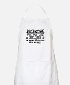 One By One The Raccoons Apron