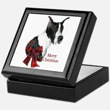 Great Dane Christmas Keepsake Box
