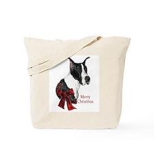 Great Dane Christmas Tote Bag