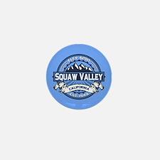 Squaw Valley Blue Mini Button