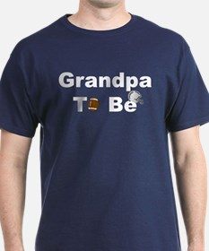 Football Grandpa To Be T-Shirt