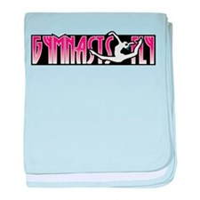 Gymnasts Fly baby blanket