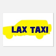 Lax Taxi Yellow Postcards (Package of 8)