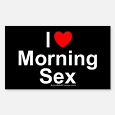 Morning Sex Decal