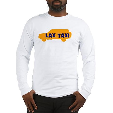 Lax Taxi Orange Long Sleeve T-Shirt