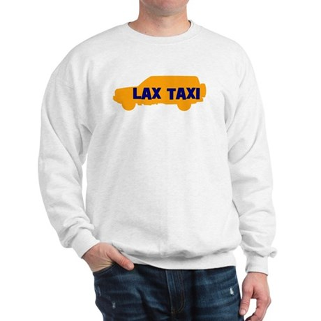 Lax Taxi Orange Sweatshirt