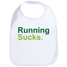Running Sucks Green Bib