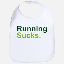 Running Sucks Green Bib
