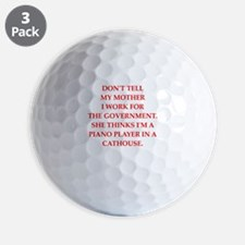 government Golf Ball