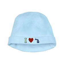 I Love Michigan baby hat