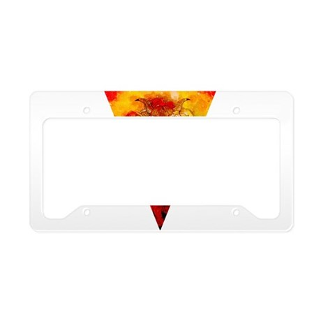 Cosmic Girl License Plate Holder