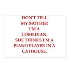 comedian Postcards (Package of 8)