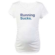 Running Sucks Blue Shirt