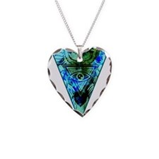 Triangle Owl Necklace