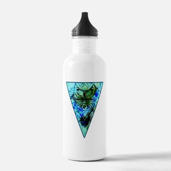 Triangle Owl Water Bottle