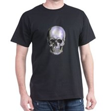 Skull on light background T-Shirt