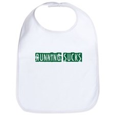 Running Sucks Block Bib