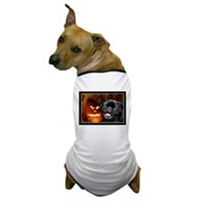 Halloween pug card Dog T-Shirt