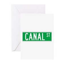 Canal St., New York - USA Greeting Cards (Package