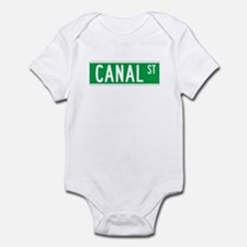 Canal St., New York - USA Infant Bodysuit
