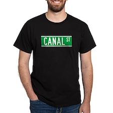 Canal St., New York - USA T-Shirt