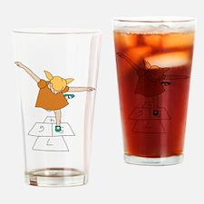 Hopscotch Drinking Glass