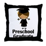 Preschool Graduate Throw Pillow