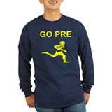 Go pre Long Sleeve T-shirts (Dark)