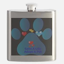 Cool Save a life adopt Flask