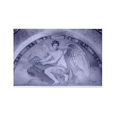 Archangel Uriel Rectangle Magnet