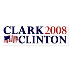 Clark-Clinton 2008 bumper sticker
