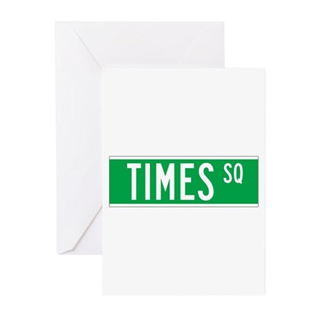 Times Sq., New York - USA Greeting Cards (Package