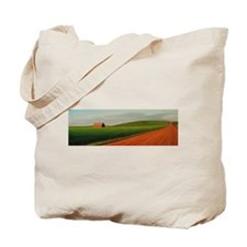Old Barn at Sundown Tote Bag