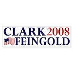 Clark-Feingold 2008 bumper sticker