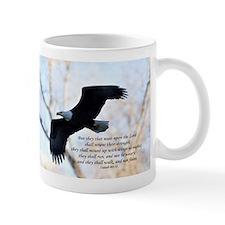 Isaiah 40:31 Eagle Soaring Small Mug