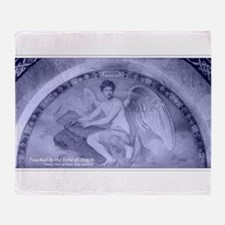 Archangel Uriel Throw Blanket