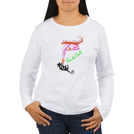 Playful pas de chat Women's Long Sleeve T-Shirt
