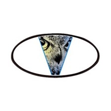 Owl Triangle Design Patches