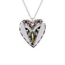 Owl Triangle Design Necklace