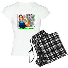 Rosie Keep Calm NH Lymphoma Pajamas