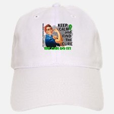Rosie Keep Calm NH Lymphoma Baseball Baseball Cap