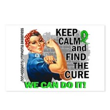 Rosie Keep Calm NH Lymphoma Postcards (Package of