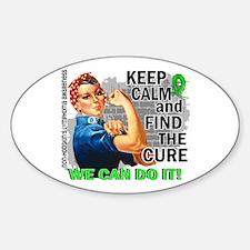 Rosie Keep Calm NH Lymphoma Decal