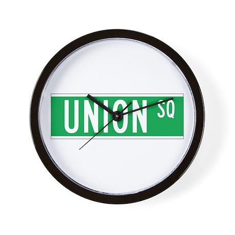 Union Sq., New York - USA Wall Clock