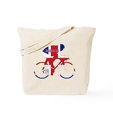 Britain Cycling Tote Bag